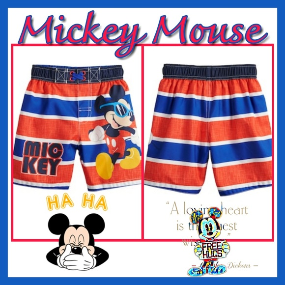 267bc55376 Disney Swim | S Mickey Mouse With Sunglasses Toddler Boy | Poshmark